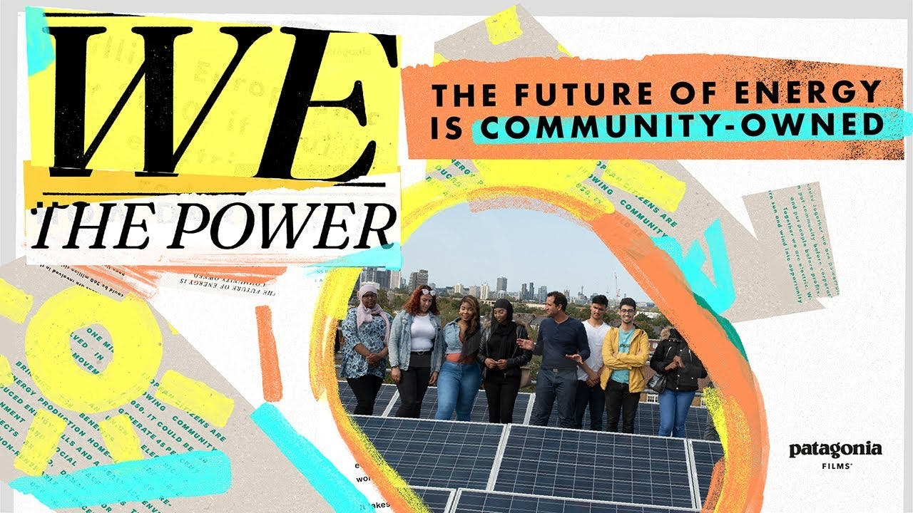 Affiche We the power