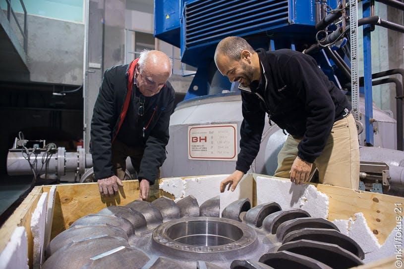 Enercoop Paca - Producteurs - Turbine hydraulique
