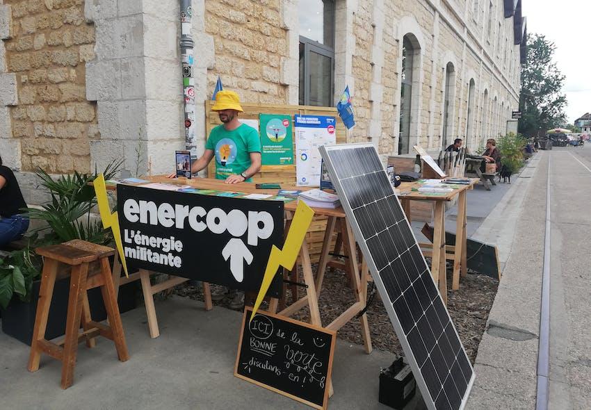Enercoop Nouvelle-Aquitaine - Enercoop Darwin Day - stand