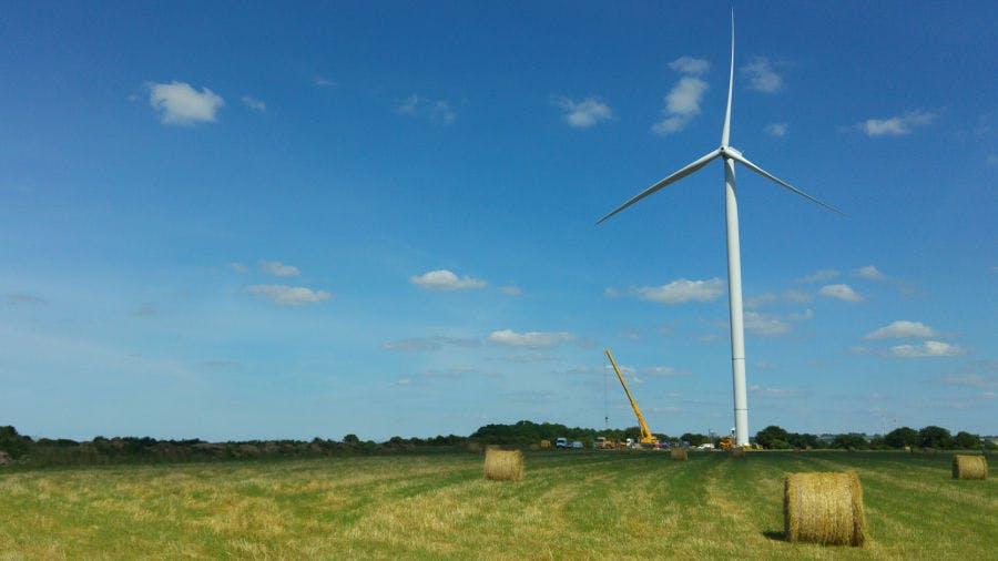 parc éolien de l'Hyrôme - Enercoop Pays de la Loire