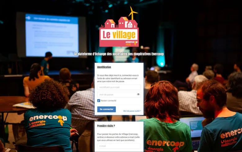 Enercoop Paca - Sociétaires - Plateforme en ligne le Village