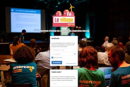 Enercoop Bretagne : présentation du Village