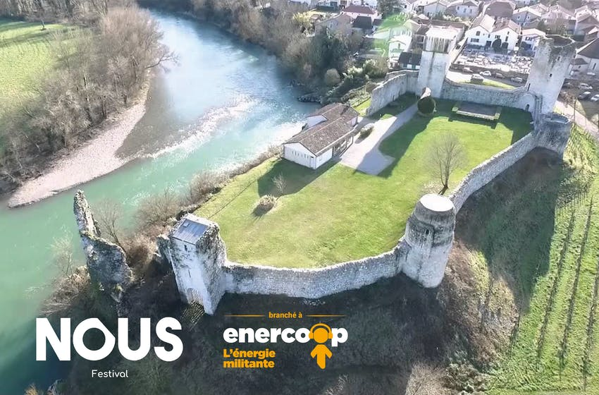Enercoop Nouvelle-Aquitaine - NOUS Festival - Powered by Enercoop