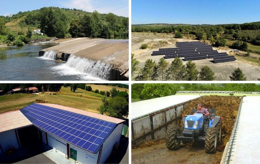 4 producteurs d'énergie renouvelable Enercoop Midi-Pyrénées