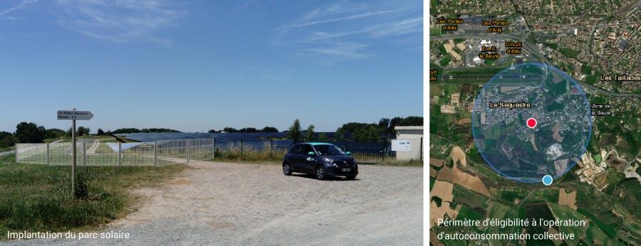 Implantation du parc solaire de Pousse-Pisse à Carlus par Enercoop Midi-Pyrénées