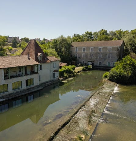 Centrale hydroélectrique de Puymangou à Saint Aulaye