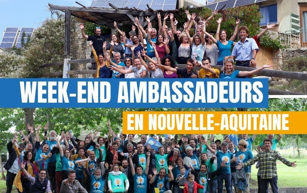 Annonce du week-end ambassadeurs d'Enercoop Nouvelle-Aquitaine en 2021