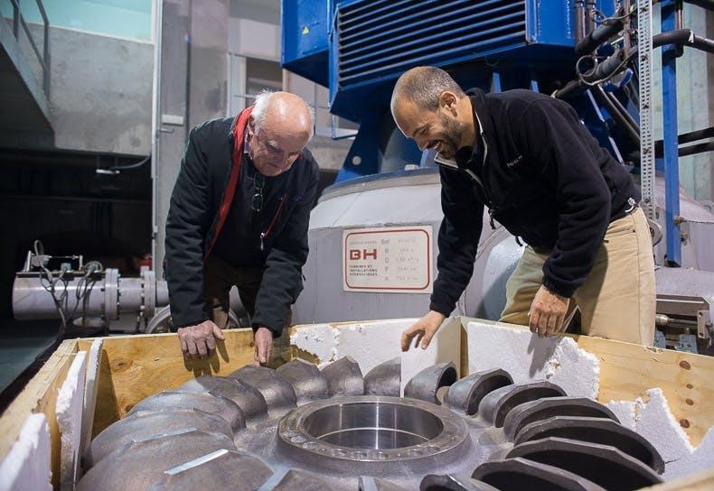 Enercoop Paca - Producteur - Production - Turbine hydraulique