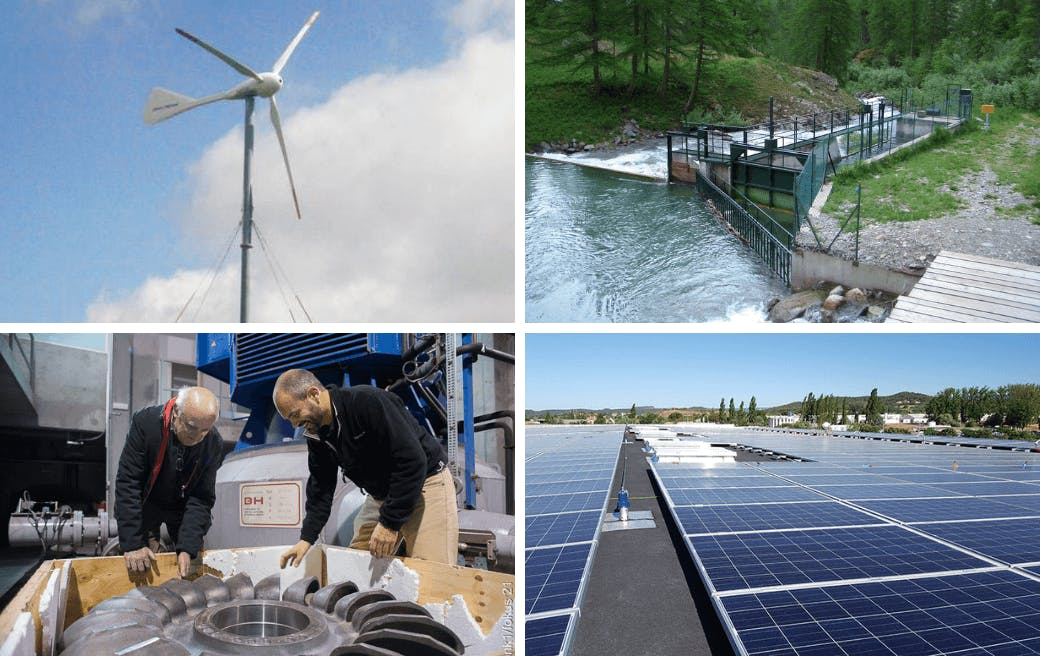 Enercoop Paca - Producteurs - Zoom 2020 - Collage