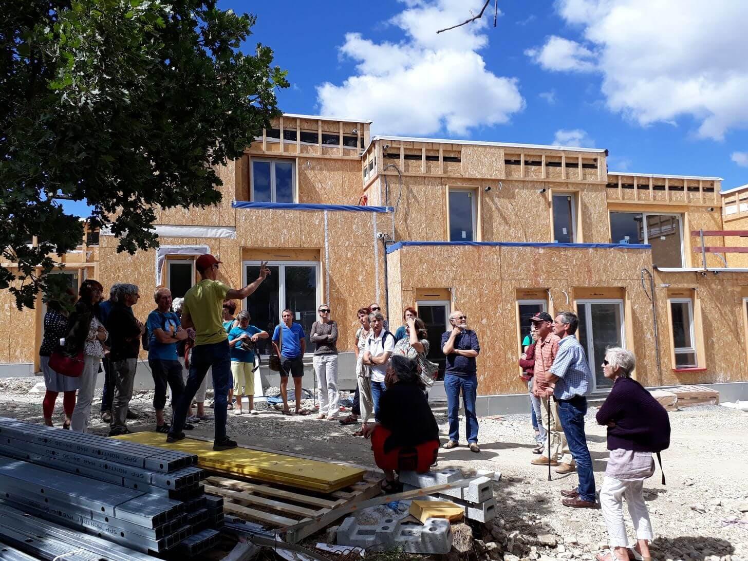 Enercoop Provence-Alpes-Côte d'Azur PACA - Rencontre coopérative 2017 - Forcalquier - Chantier