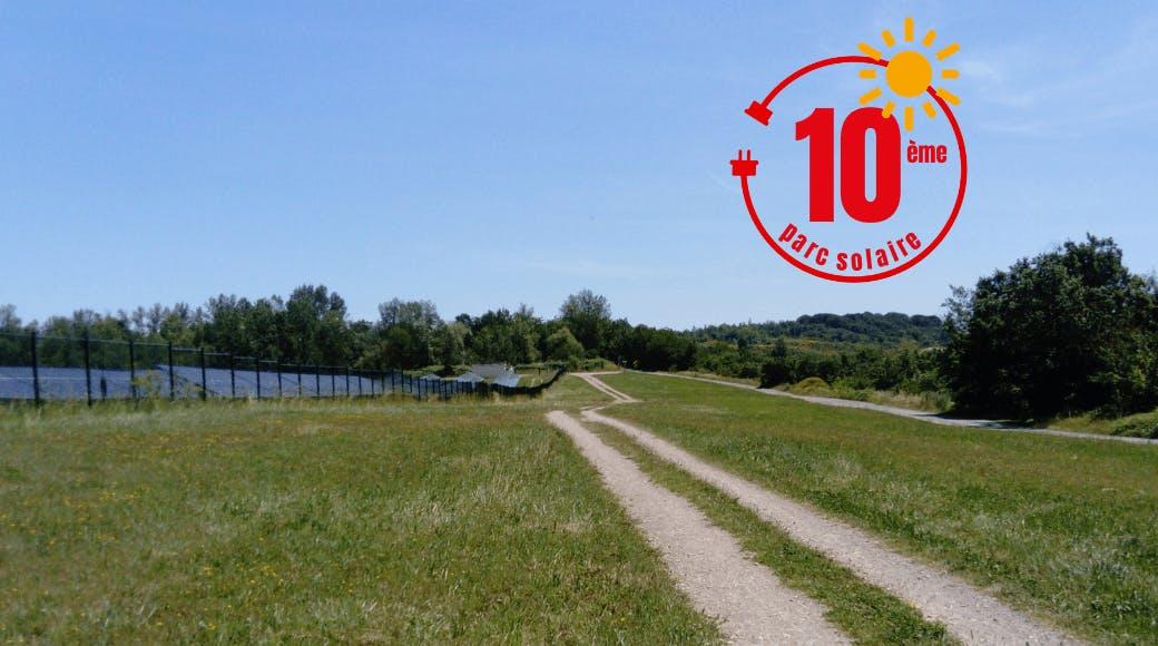 Terrain du 10ème parc solaire d'Enercoop Midi-Pyrénées : Pousse Pisse à Carlus-Le Séquestre, Tarn