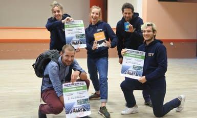Enercoop AURA et Energ'isère avec les supports de communication pour la concertation publique concernant le projet de production d'énergie renouvelable à Saint Romans