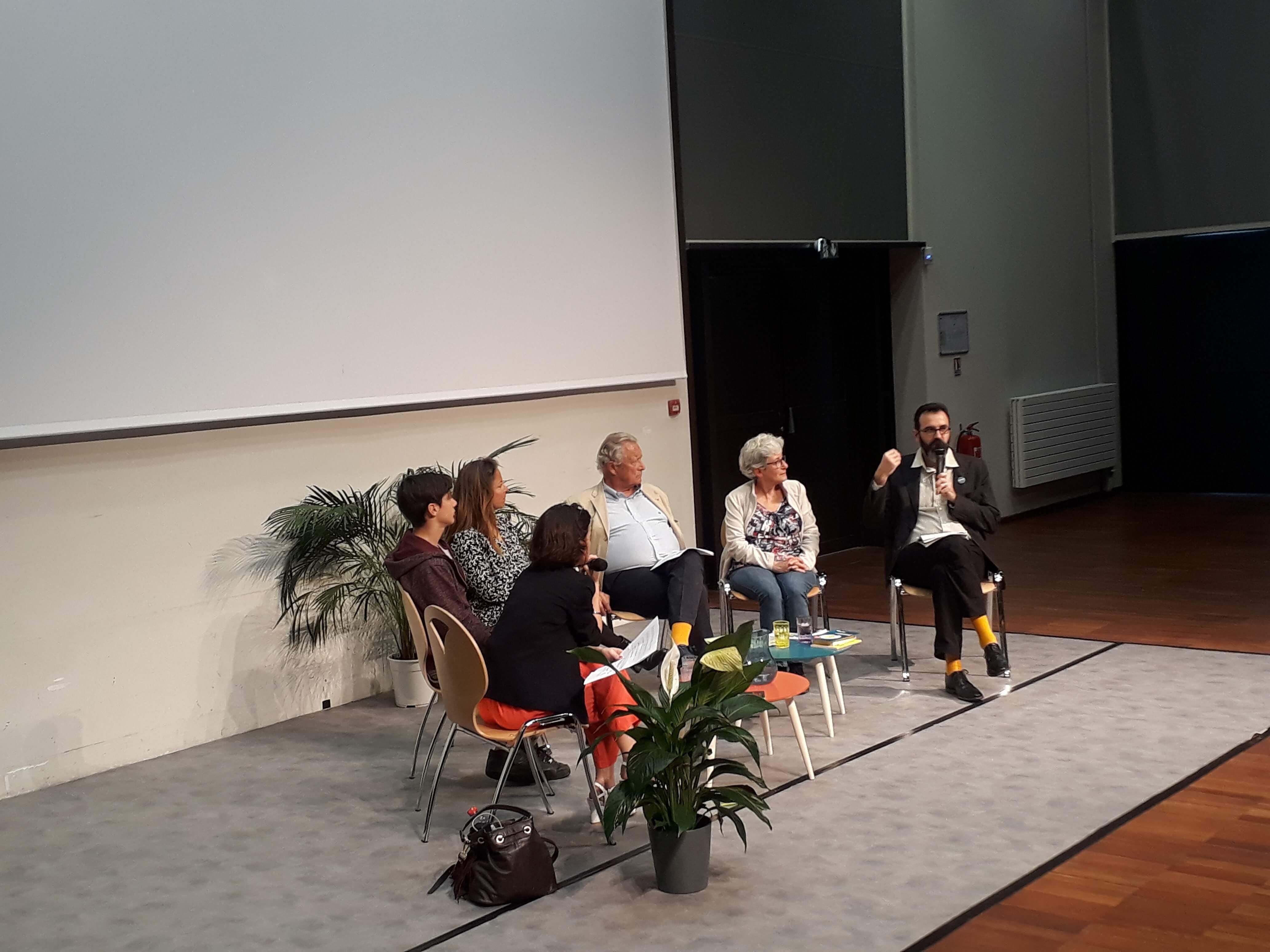Enercoop Paca - Vie coopérative - Assemblée Générale AG 2019 - Biot 06 - Table ronde ouverture
