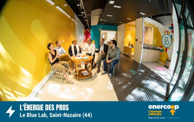 Blue Lab - Saint-Nazaire - électricité verte - Enercoop Pays de la Loire