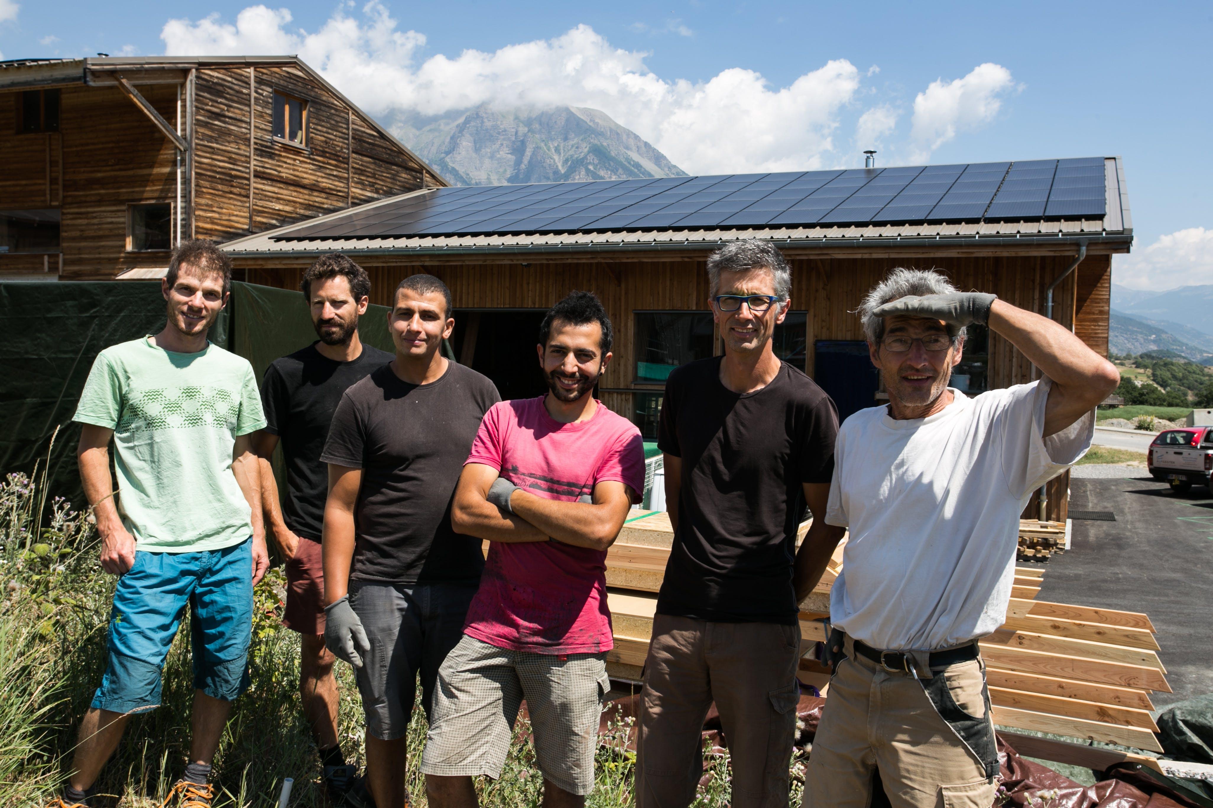 Enercoop Paca - Producteurs - Energies Collectives Eco2Scop Embrun - Equipe