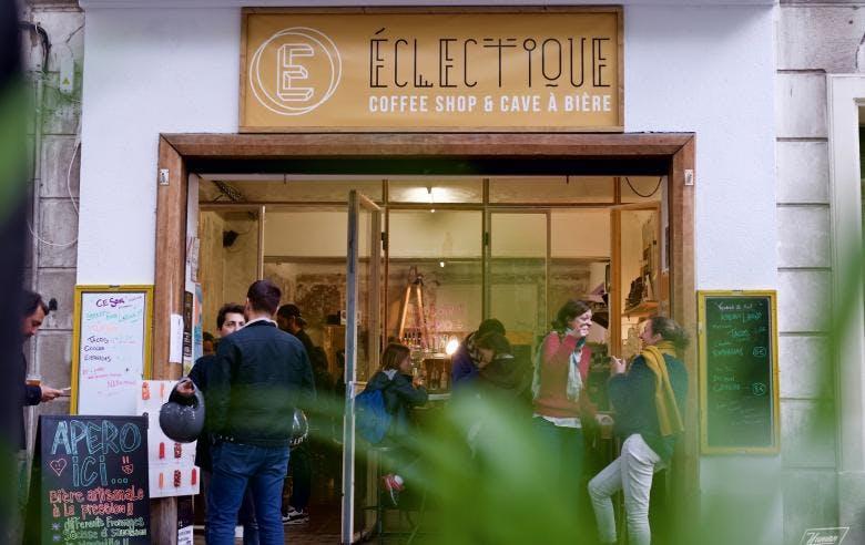 Enercoop Paca - Clients Professionnels - Eclectique cofee shop cave à bières Marseille 13 - Entrée apéro