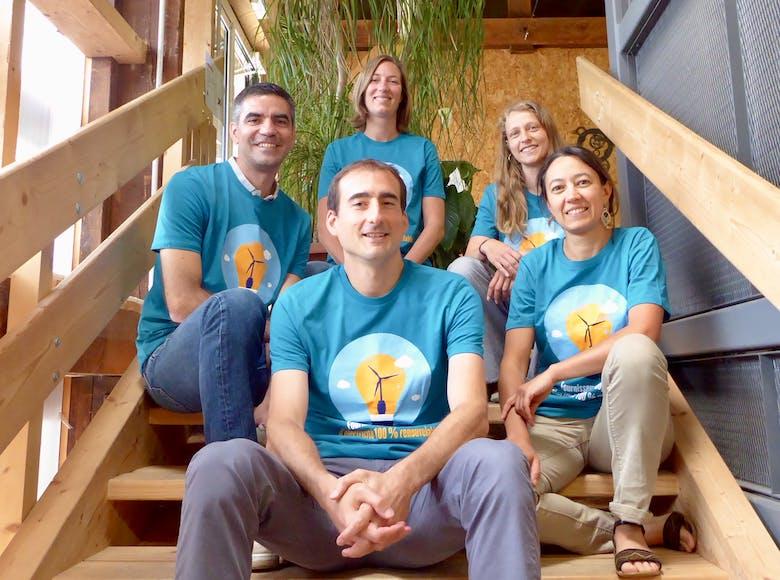 Enercoop Pays de la Loire - Equipe salariée