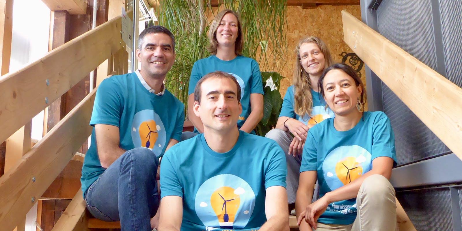 Equipe salariée Enercoop Pays de la Loire