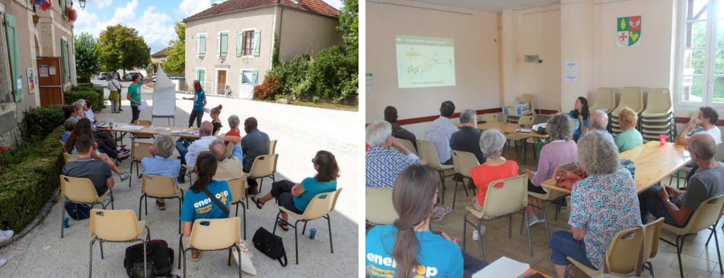 Ateliers des societaires d'Enercoop Midi-Pyrenees
