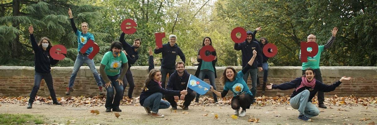 Photo d'équipe d'Enercoop Midi-Pyrénées