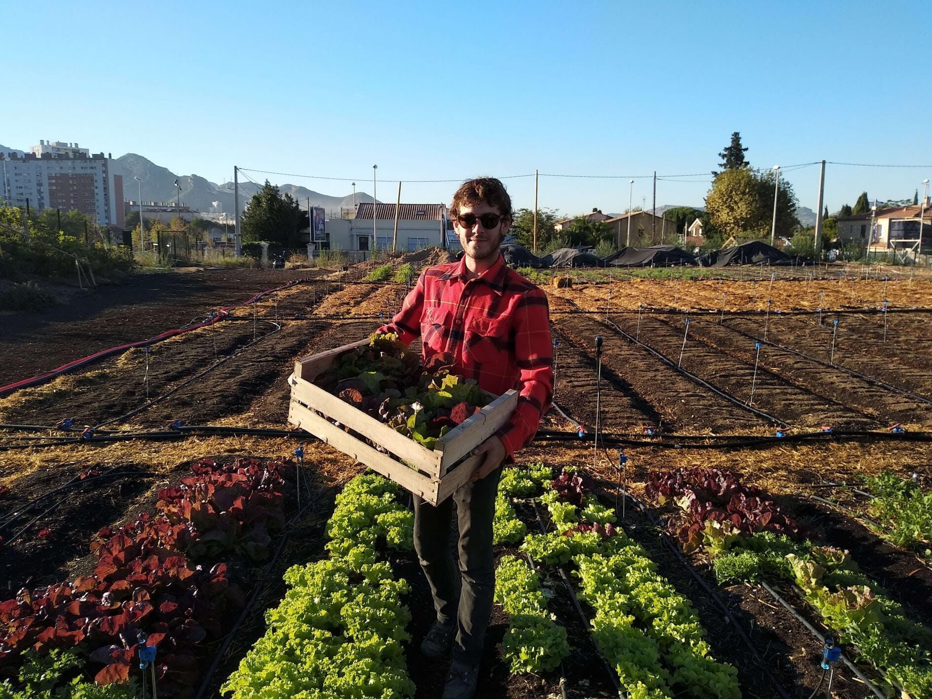 Enercoop Paca - Clients Professionnels - Le Talus Marseille 13 - Portrait Jardinier