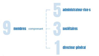 Schéma des membres du processus de révision