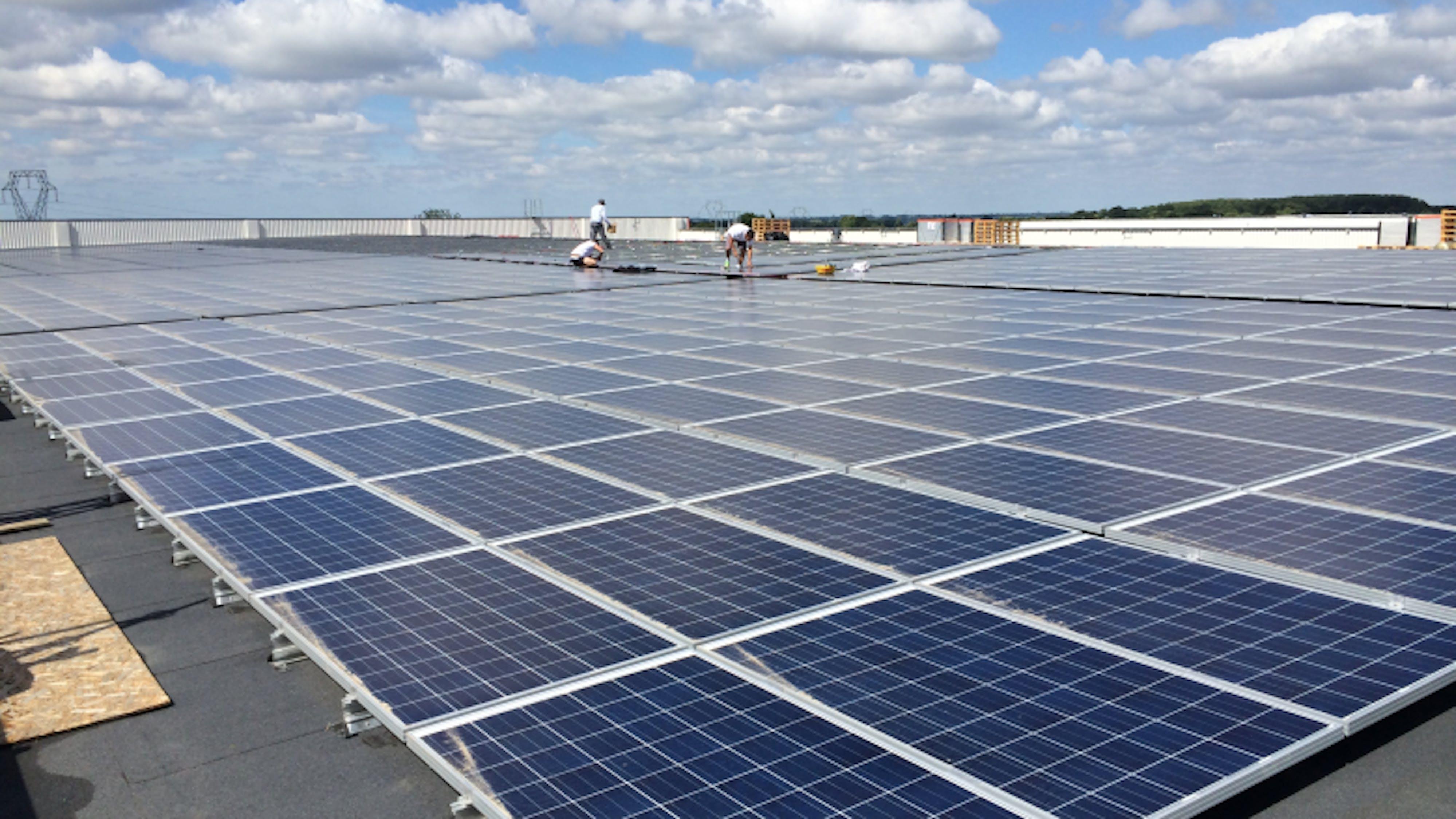 Enercoop Paca - Production - Panneaux solaires