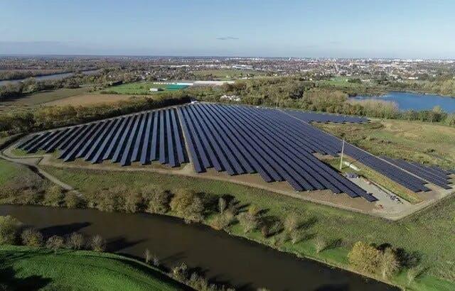 Enercoop Pays de la Loire : Centrale solaire de la Petite Vicomté
