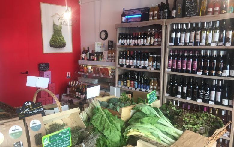 Enercoop Paca - Clients Professionnels - épicerie Jean de la Tomate Nice 06 - Boutique caisse