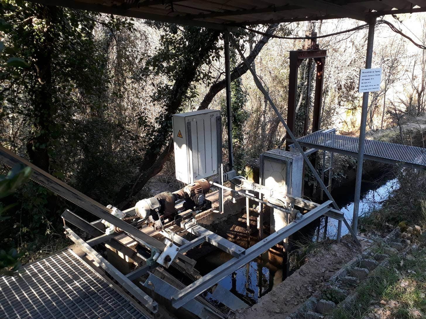 Enercoop Provence-Alpes-Côte d'Azur PACA - Visite Barjols Centrale hydroélectrique 2019 - Prise d'eau