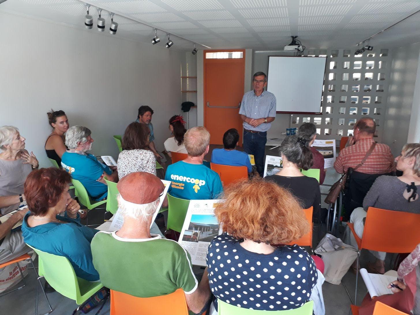 Enercoop Provence-Alpes-Côte d'Azur PACA - Rencontre coopérative 2017 - Forcalquier - Formation