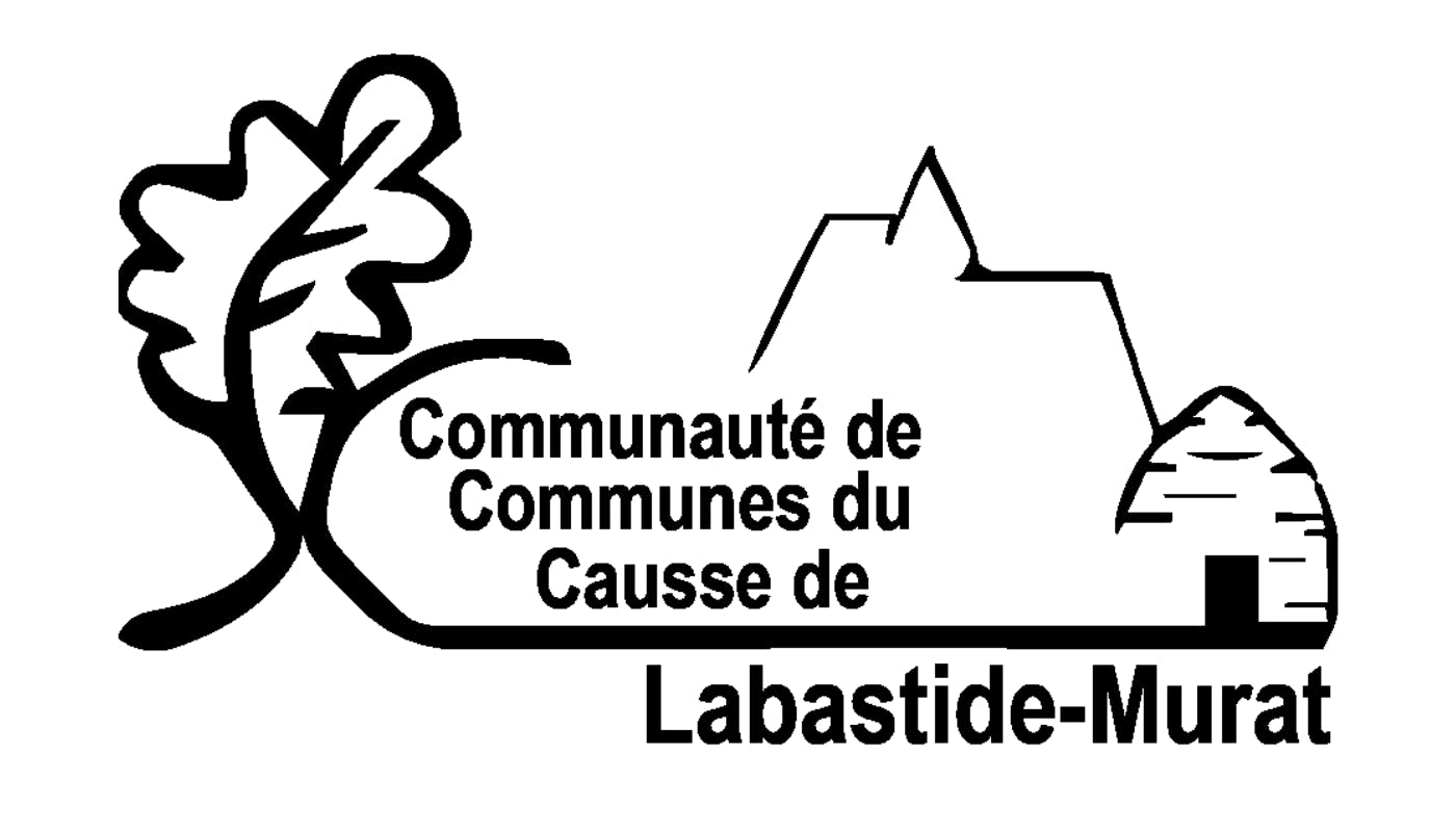 Logo de la Communauté de Communes du Causse de Labastide-Murat