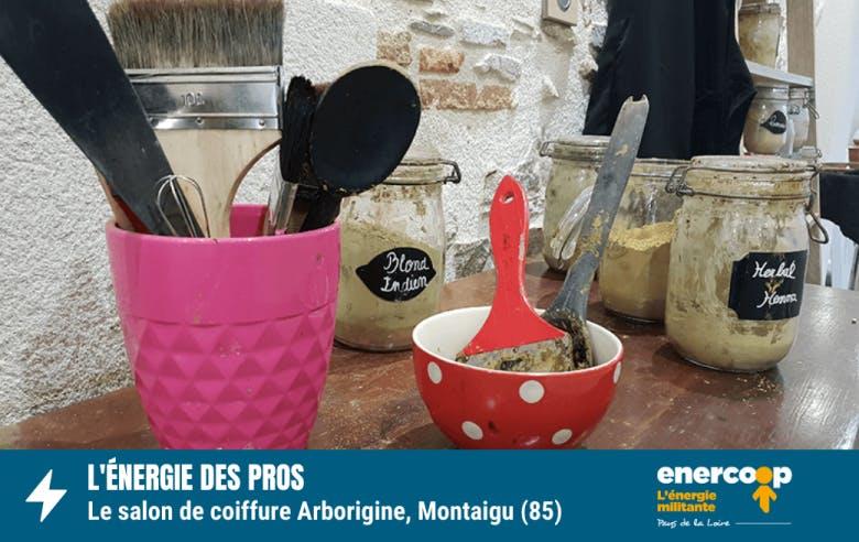 coiffeur - Arborigine - Montaigu - Vendée - Enercoop Pays de la Loire - électricité verte