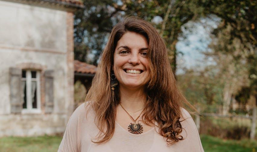 Anaïs Bouzon, sociétaire landaise - Enercoop Nouvelle-Aquitaine