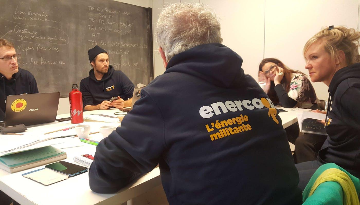 Réunion du Conseil d'Administration à Bordeaux en 2019 - Enercoop Nouvelle-Aquitaine