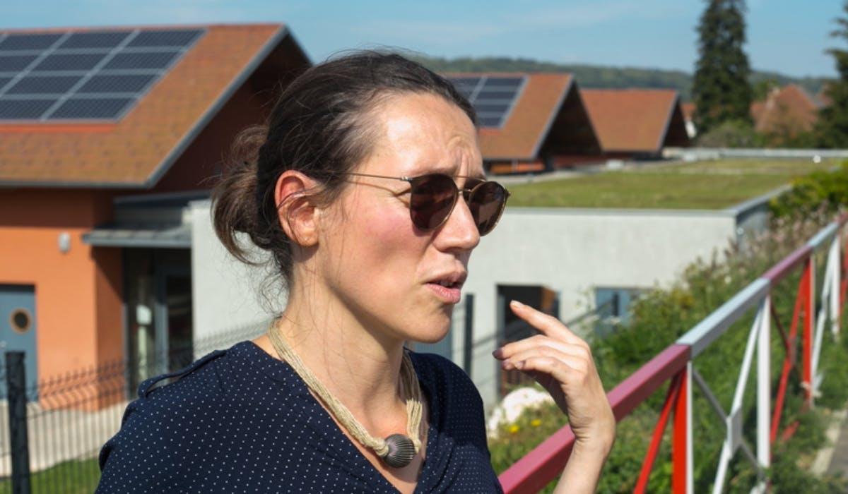 Photo de Noémie Zambeaux de chez Buxia Energies