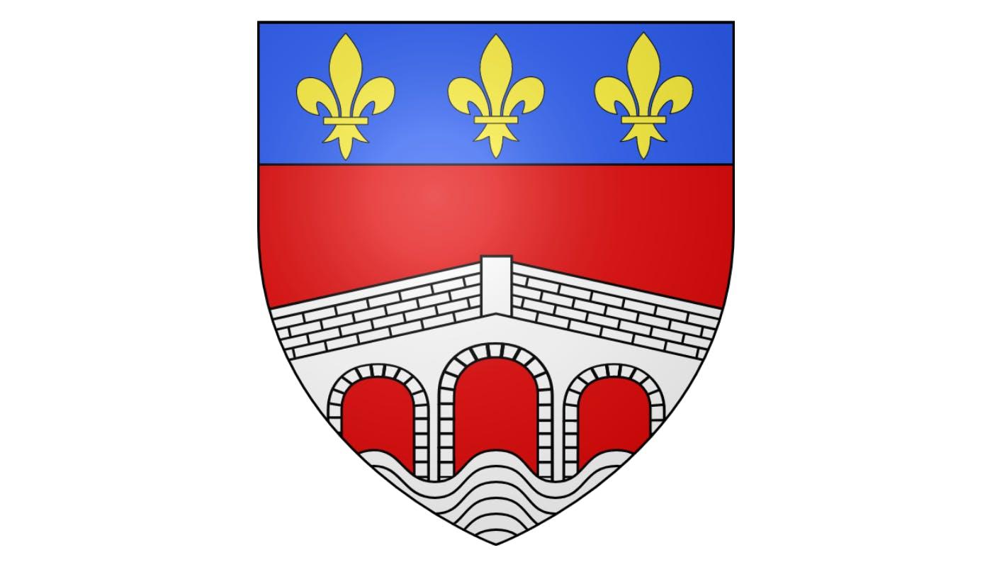 Blason de la commune de Camarès dans l'Aveyron