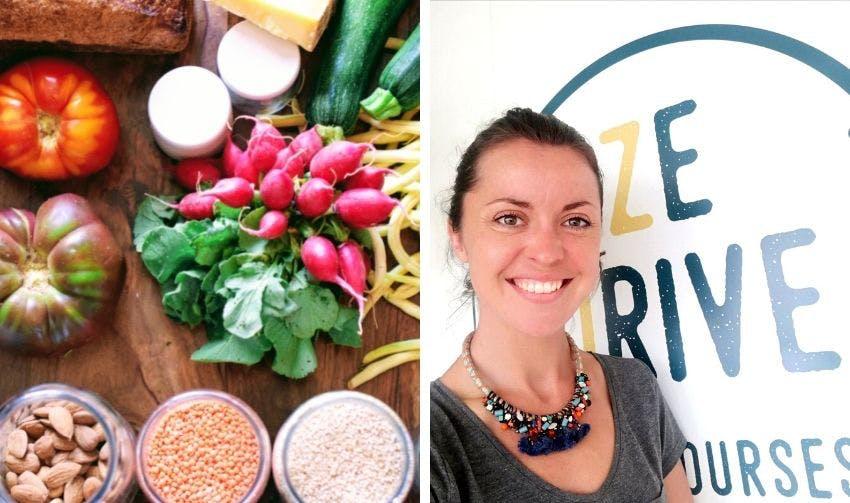 Légumes et produits en vrac / Célia, co-fondatrice de Ze Drive - Enercoop Nouvelle-Aquitaine