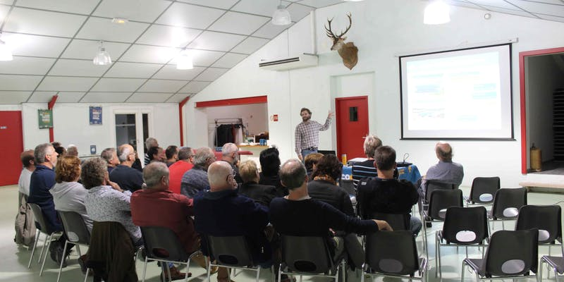 Réunion publique de septembre 2019 à Blars avec les habitants de la commune