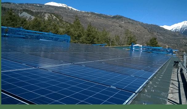 Enercoop Paca - Vie coopérative - SEML S.E.V.E. - Puy-Saint-André - Toiture photovoltaïque Hangar