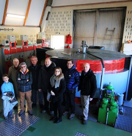 Visite de la centrale hydroélectrique près de Billères par Enercoop Nouvelle-Aquitaine