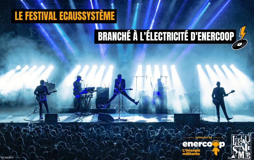 Le festival Ecaussystème branché à l'électricité d'Enercoop