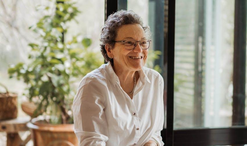 Portrait Marie-Colette - crédit photo : Lycia Walter - Enercoop Nouvelle-Aquitaine