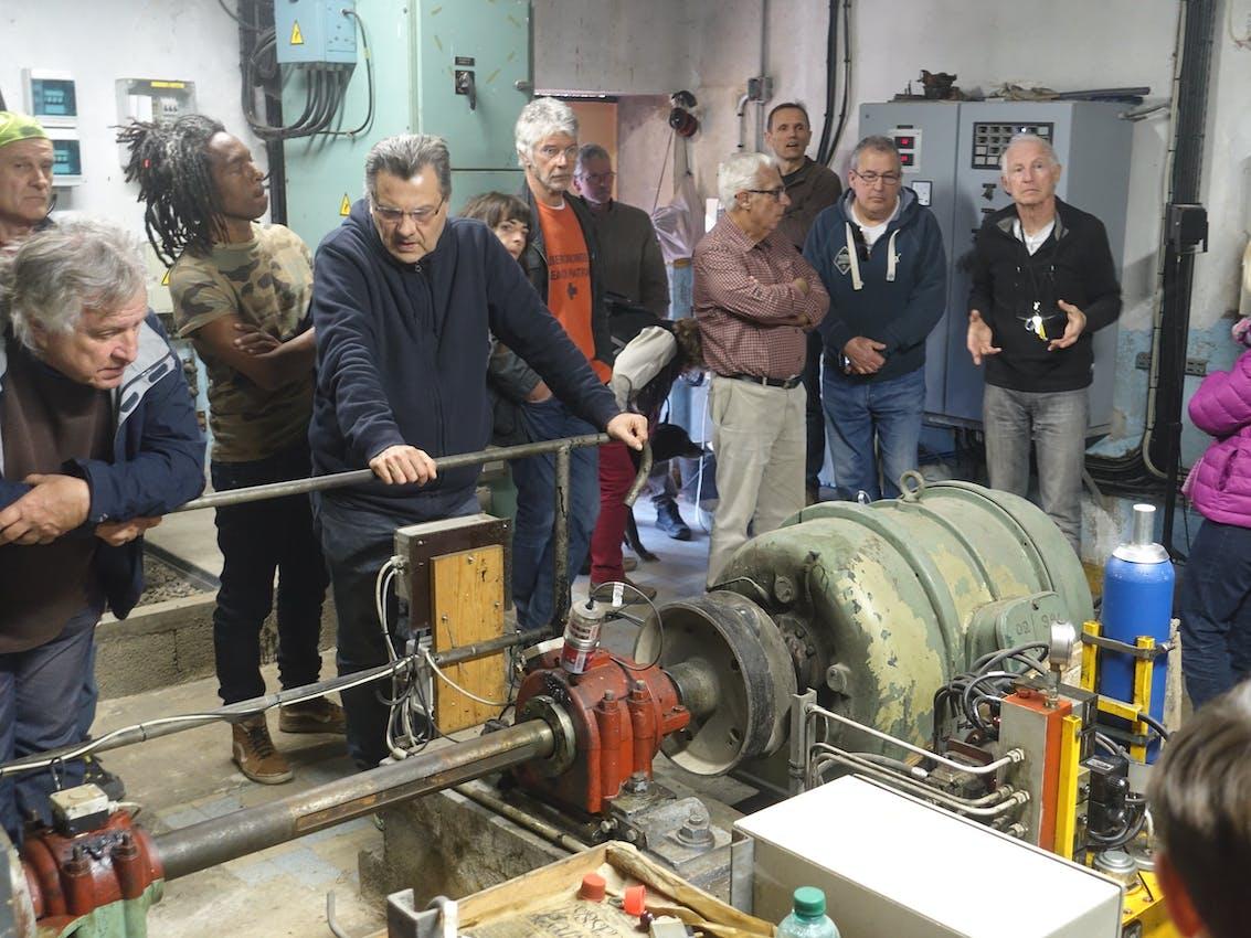 Enercoop Paca -Producteurs - Mini-centrale hydroélectrique Fauvery Barjols 83