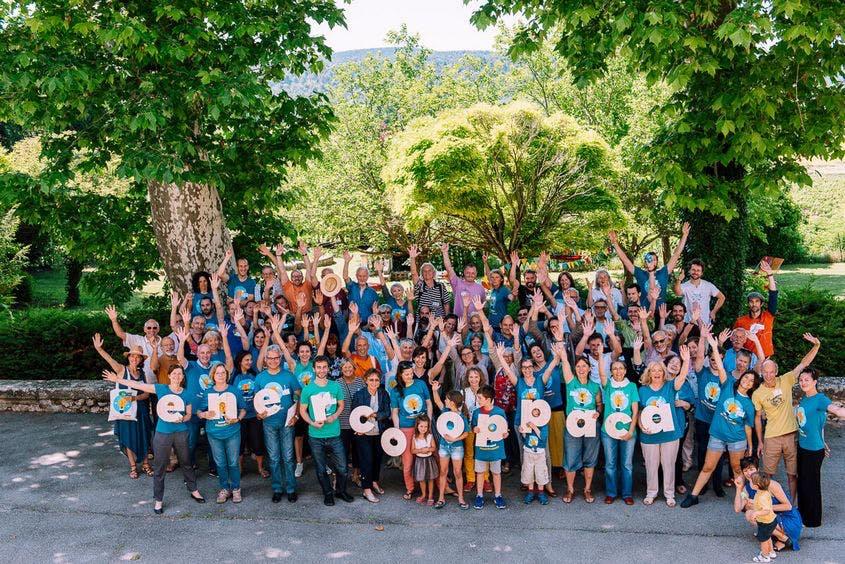 Enercoop Provence-Alpes-Côte d'Azur PACA - Assemblée Générale AG 2018 - Foule des sociétaires