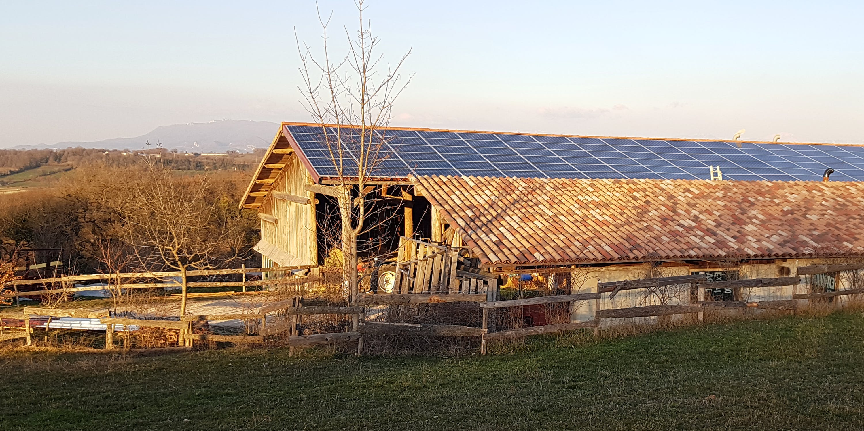 Site de production d'énergie photovoltaique
