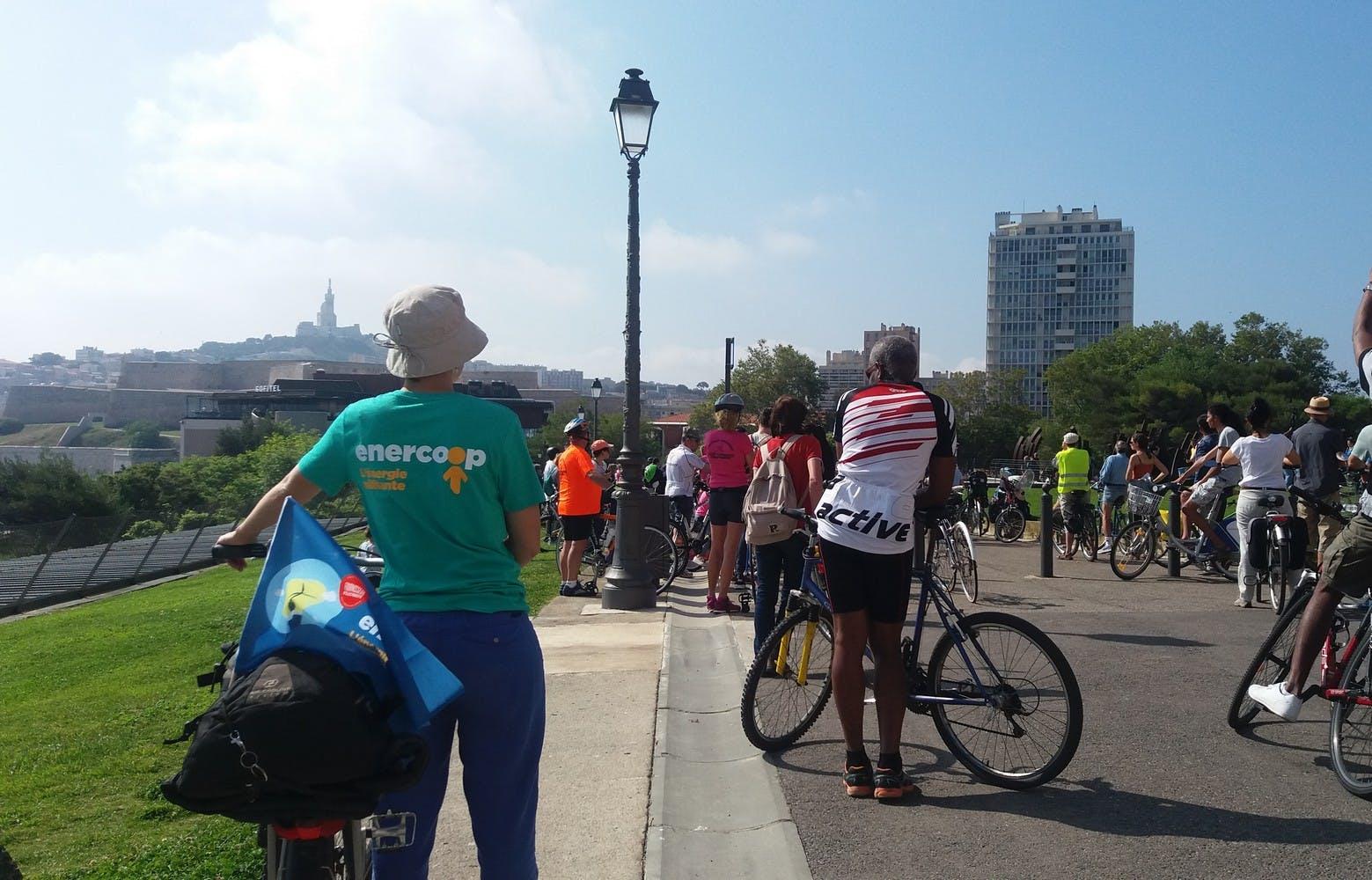 Enercoop Paca - fête du vélo