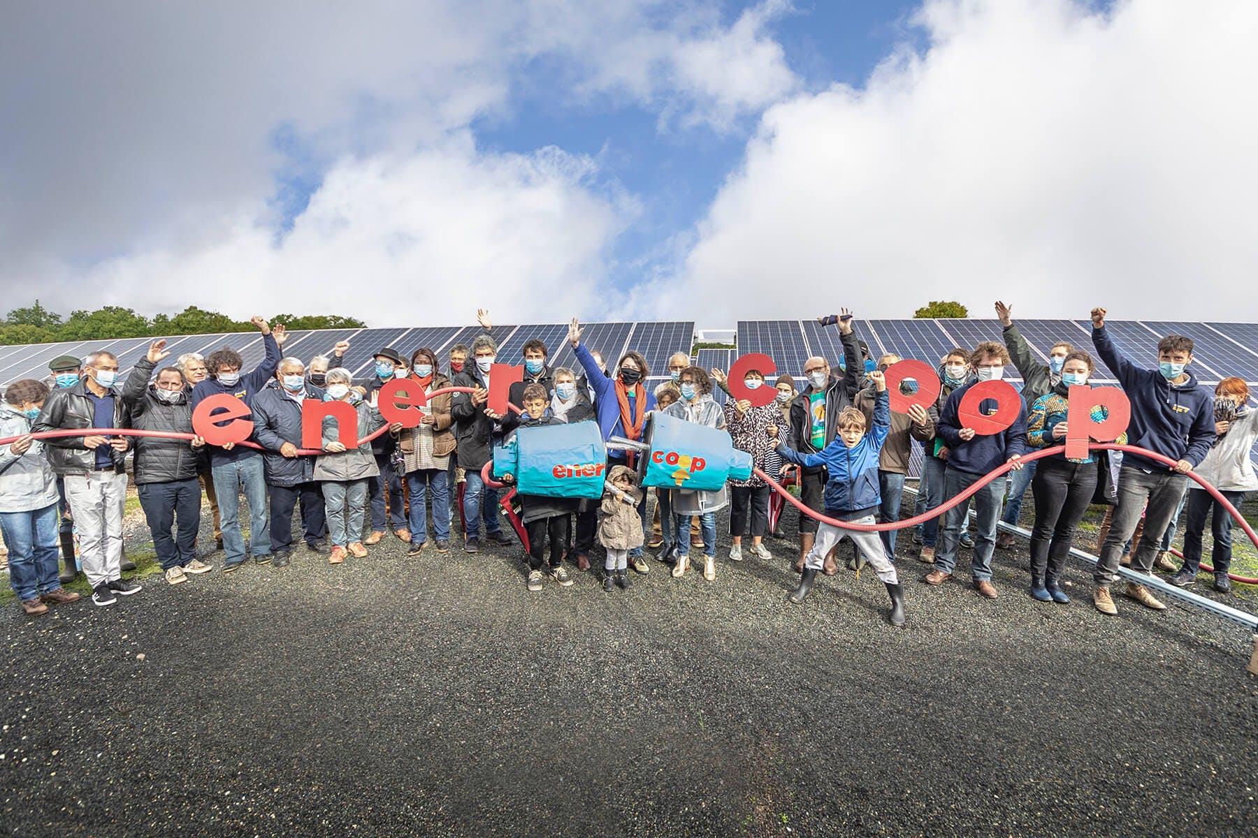 Parc solaire de Vayssière à Montfaucon - Enercoop Midi-Pyrénées - crédit SergioDi