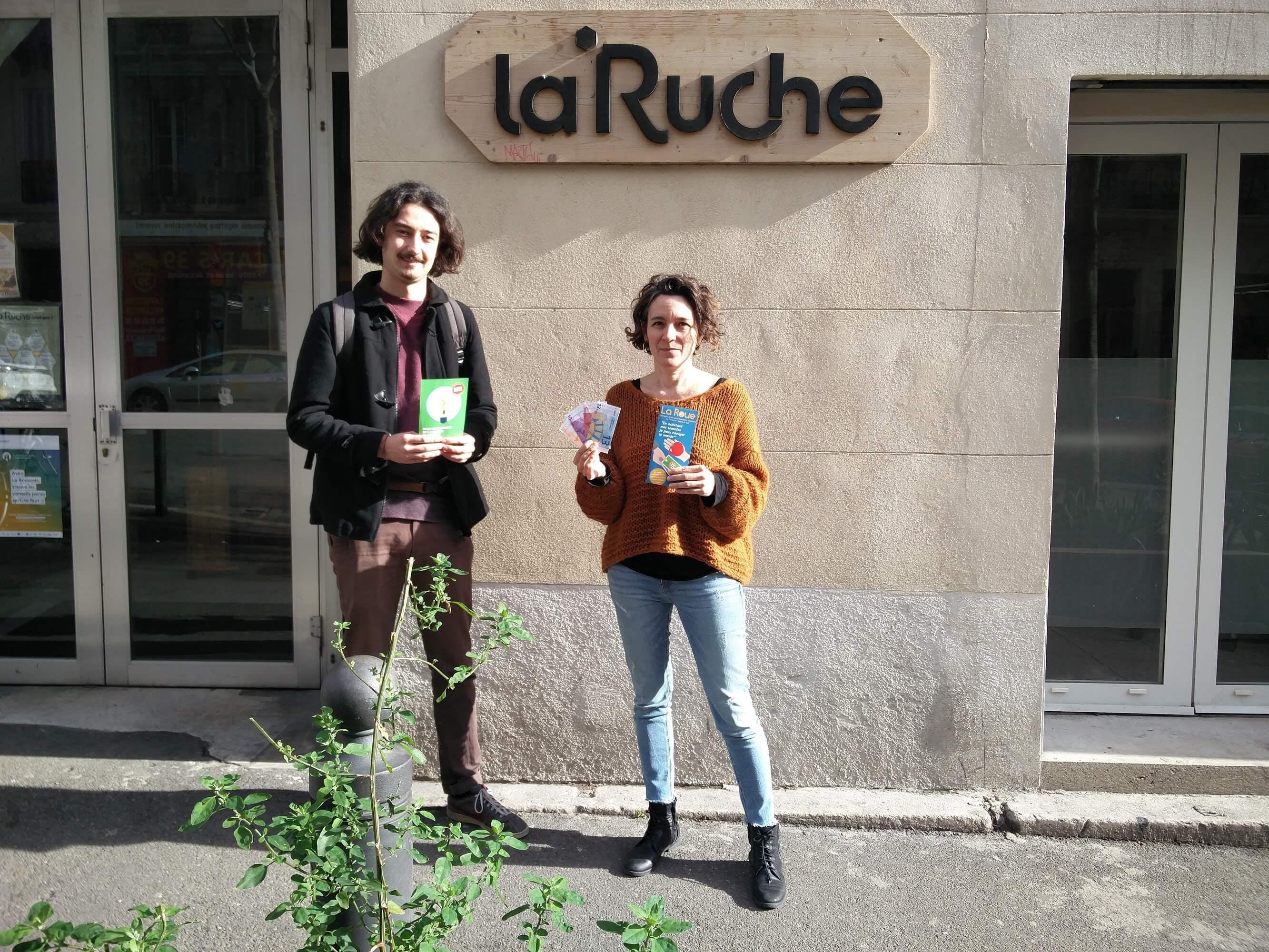Enercoop PACA - Partenariat - La Roue - La Ruche Marseille - Provence-Alpes-Côte d'Azur - Monnaie locale