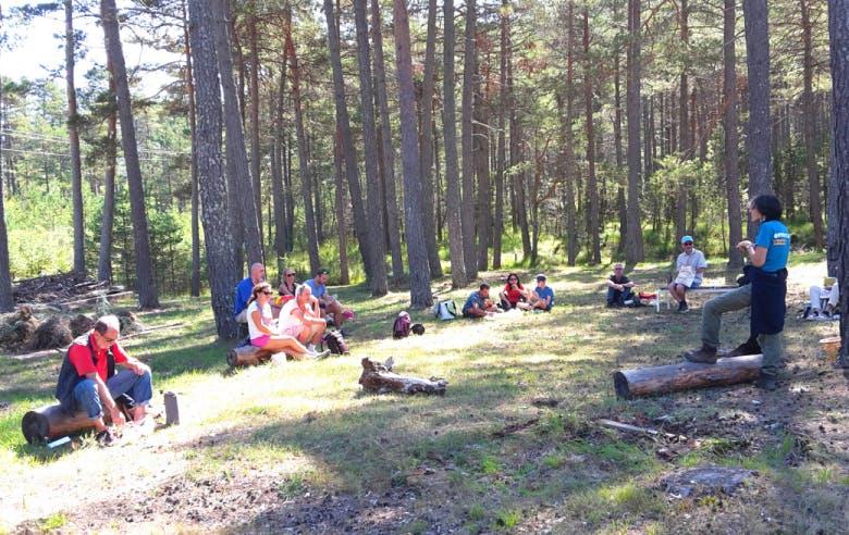 Enercoop  Paca - Vie coopérative - Randowatt Saint-Auban 2020 - PEP2A Montagn'Habits - Groupe forêt